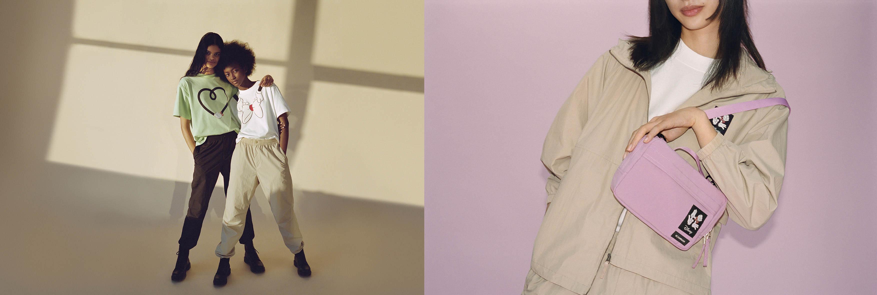优衣库与AMBUSH合作推出 运动休闲风迪士尼米妮主题UT系列